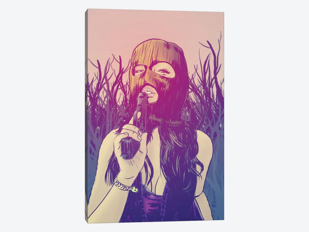 Masked by Giuseppe Cristiano 1-piece Canvas Art Print