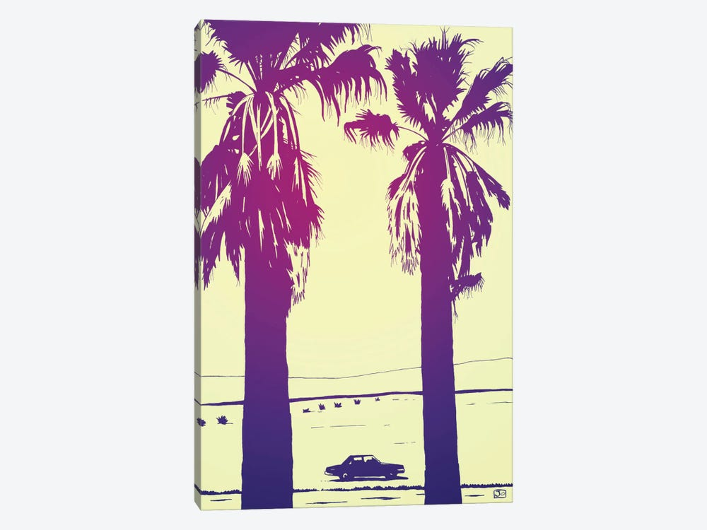 Palms by Giuseppe Cristiano 1-piece Canvas Art