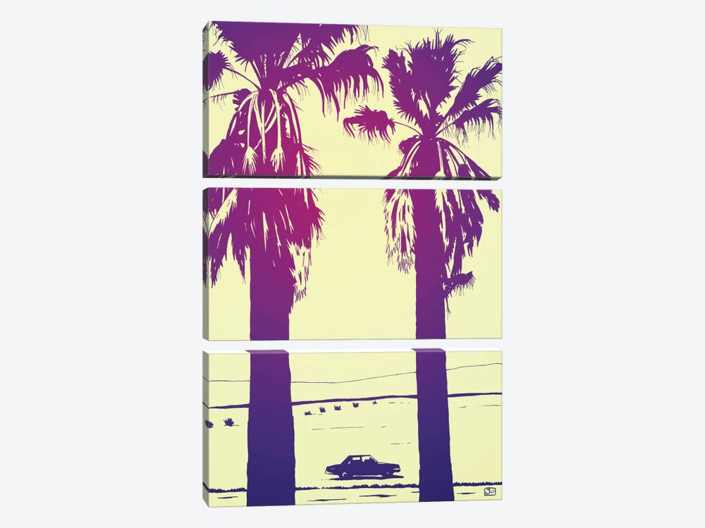 Palms by Giuseppe Cristiano 3-piece Canvas Art