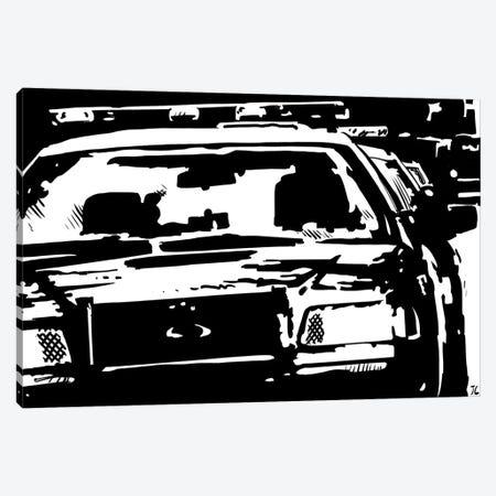 Police Canvas Print #JCR49} by Giuseppe Cristiano Canvas Art