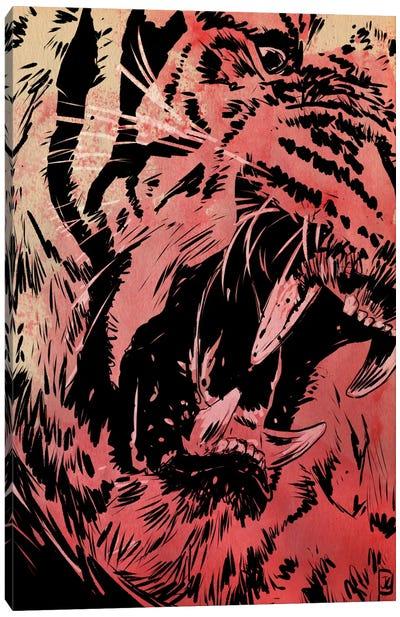 Roar Canvas Print #JCR54
