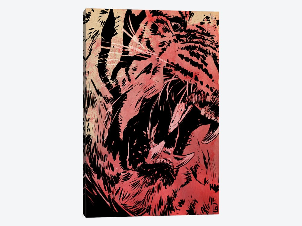 Roar by Giuseppe Cristiano 1-piece Canvas Wall Art