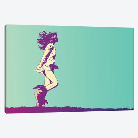 Running Free Canvas Print #JCR55} by Giuseppe Cristiano Canvas Art