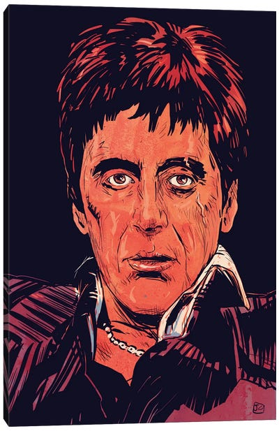 Scarface: Tony Montana Canvas Art Print