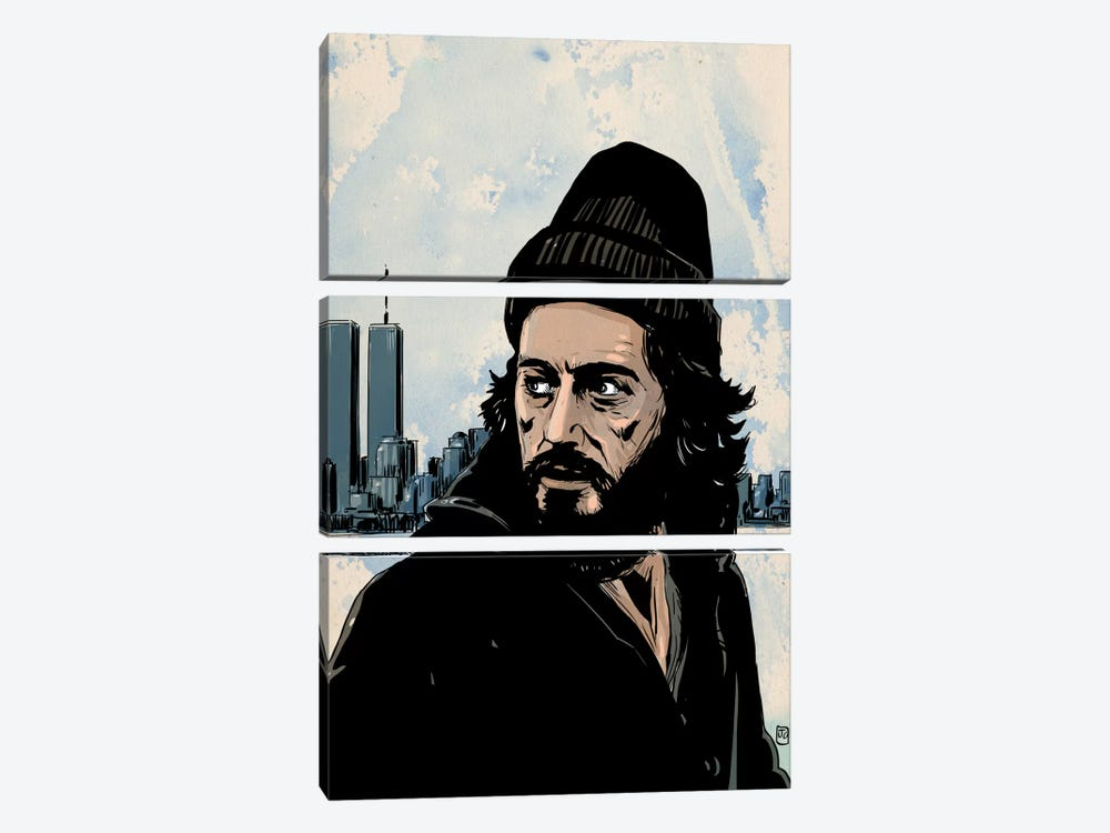 Serpico: Frank Serpico by Giuseppe Cristiano 3-piece Canvas Art Print