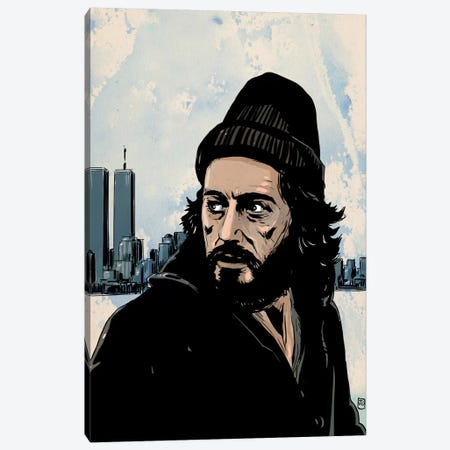 Serpico: Frank Serpico Canvas Print #JCR57} by Giuseppe Cristiano Canvas Artwork