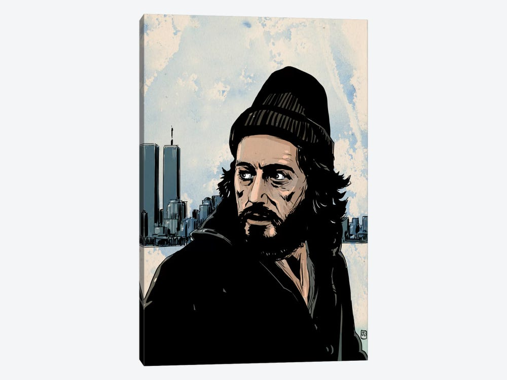 Serpico: Frank Serpico by Giuseppe Cristiano 1-piece Canvas Print