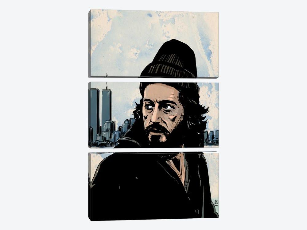 Serpico: Frank Serpico by Giuseppe Cristiano 3-piece Canvas Art Print