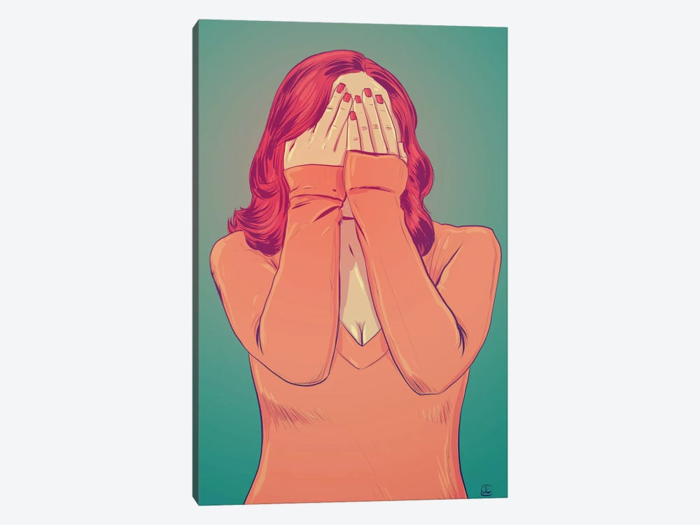 Shame by Giuseppe Cristiano 1-piece Canvas Wall Art