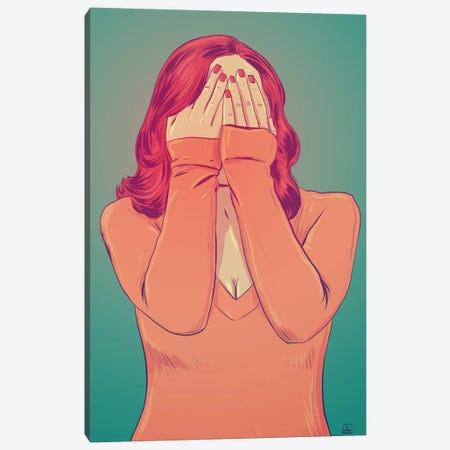 Shame Canvas Print #JCR58} by Giuseppe Cristiano Art Print