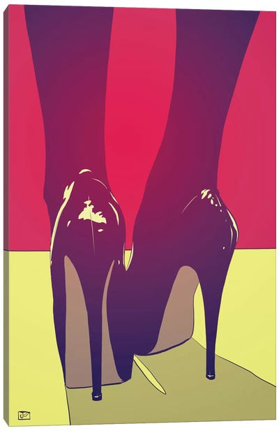 Shoes by Giuseppe Cristiano Canvas Art Print