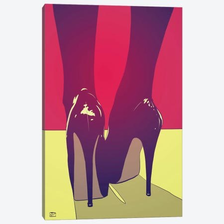 Shoes Canvas Print #JCR59} by Giuseppe Cristiano Art Print