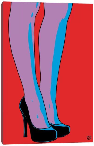 Shoes IX Canvas Print #JCR61