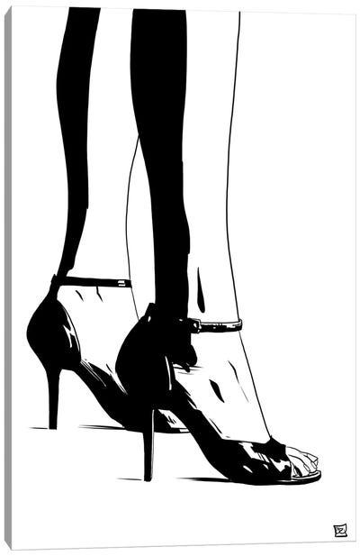 Shoes X Canvas Print #JCR62