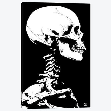 Skeleton Canvas Print #JCR63} by Giuseppe Cristiano Canvas Wall Art