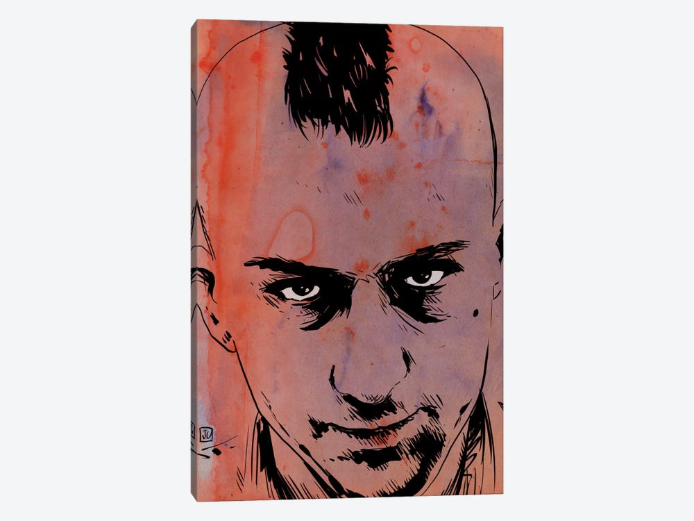 Taxi Driver: Travis Bickle by Giuseppe Cristiano 1-piece Canvas Print
