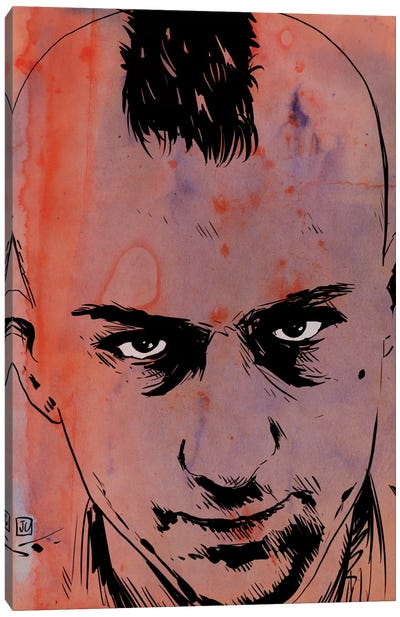 Taxi Driver: Travis Bickle Canvas Art Print