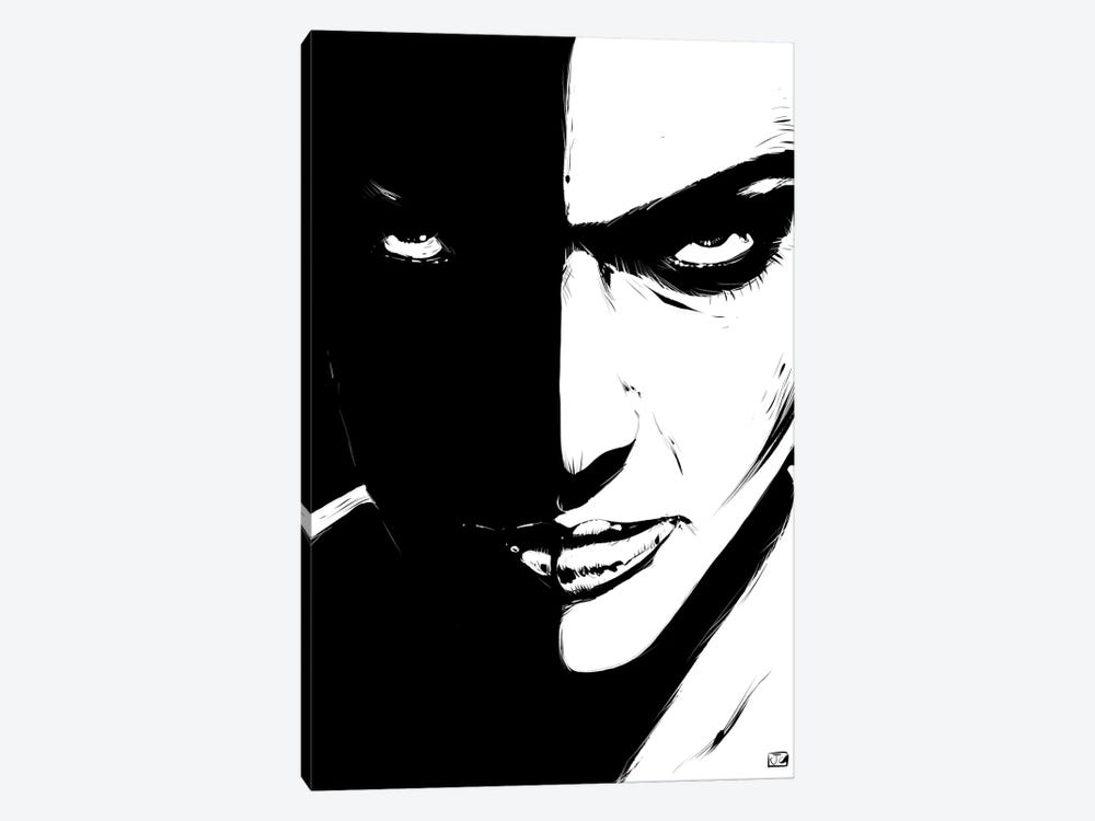 The Look 1-piece Canvas Artwork