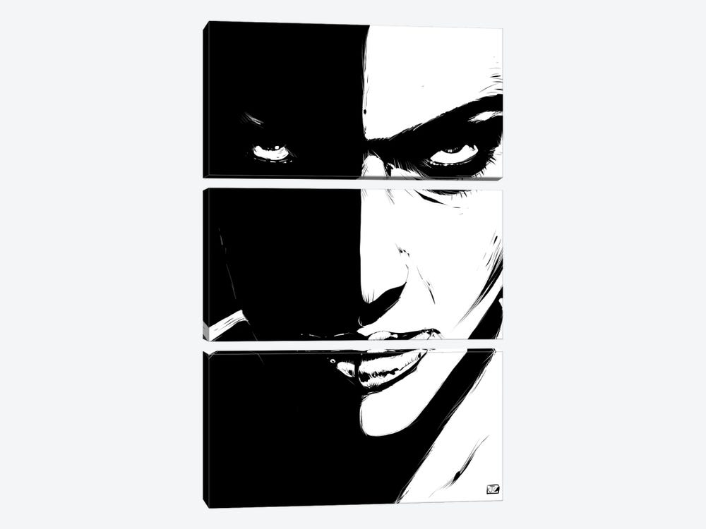 The Look by Giuseppe Cristiano 3-piece Canvas Art