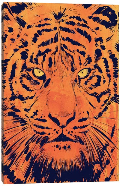 Tiger Canvas Print #JCR74