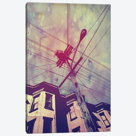 Wires I Canvas Print #JCR79} by Giuseppe Cristiano Canvas Art Print