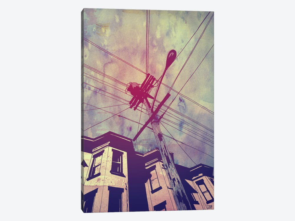 Wires by Giuseppe Cristiano 1-piece Canvas Art Print