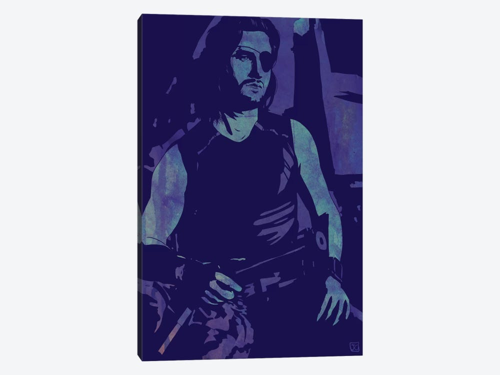 Escape From New York: Snake Plissken by Giuseppe Cristiano 1-piece Art Print