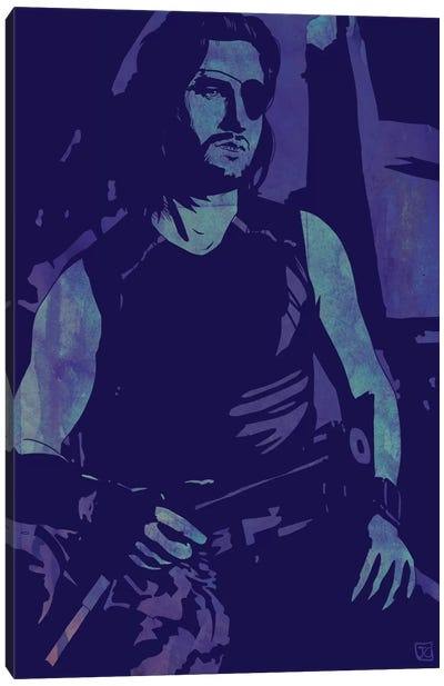 Escape From New York: Snake Plissken Canvas Art Print