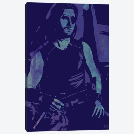 Escape From New York: Snake Plissken Canvas Print #JCR84} by Giuseppe Cristiano Canvas Print