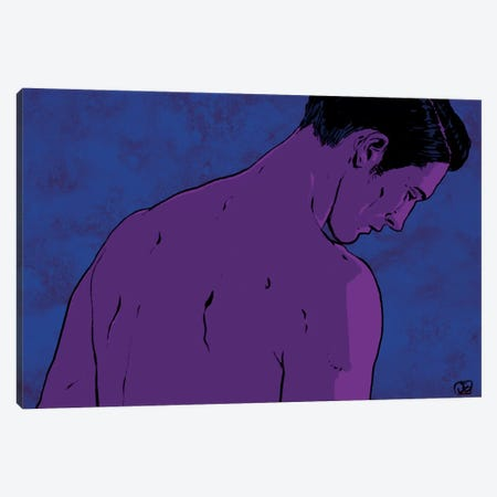 Man Canvas Print #JCR86} by Giuseppe Cristiano Canvas Print