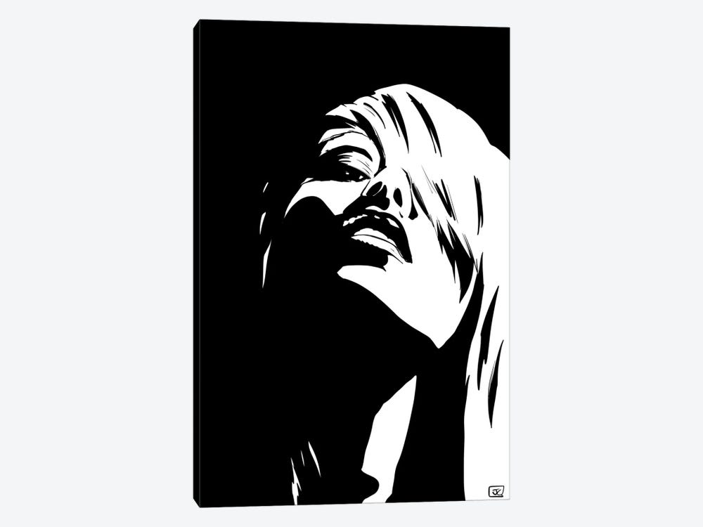Stare 1-piece Canvas Print