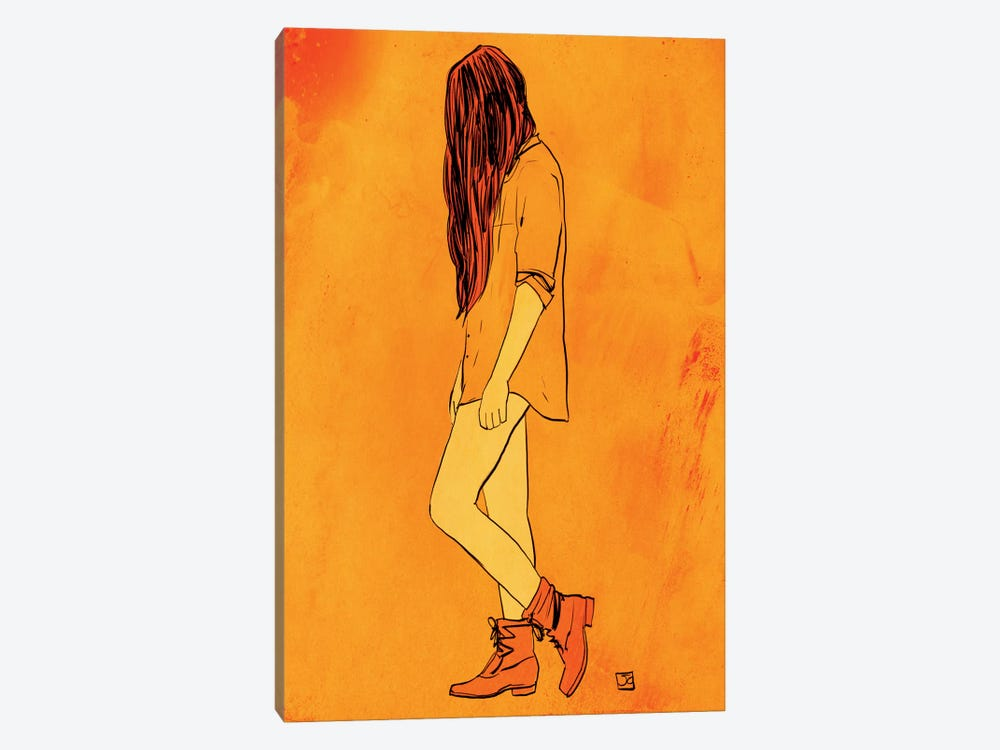 These Boots… by Giuseppe Cristiano 1-piece Canvas Artwork