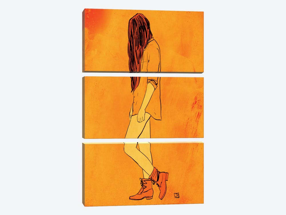 These Boots… by Giuseppe Cristiano 3-piece Canvas Artwork