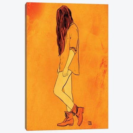 These Boots… Canvas Print #JCR90} by Giuseppe Cristiano Art Print