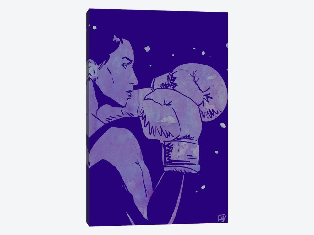 Boxing Club II by Giuseppe Cristiano 1-piece Canvas Art