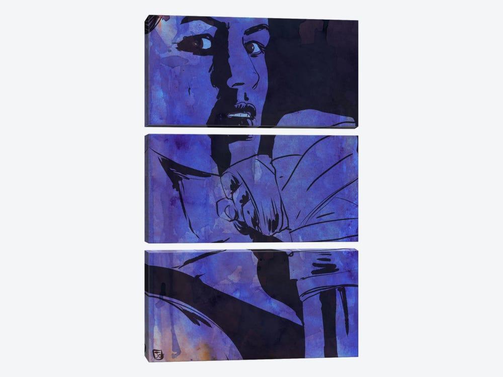 Boxing Club VI by Giuseppe Cristiano 3-piece Canvas Print