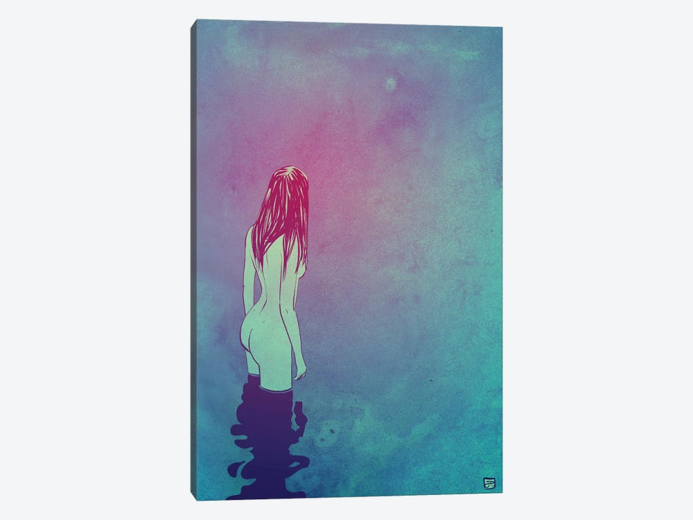 Skinny Dipping by Giuseppe Cristiano 1-piece Canvas Art