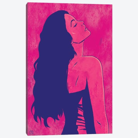 Scarlet Canvas Print #JCR97} by Giuseppe Cristiano Canvas Art