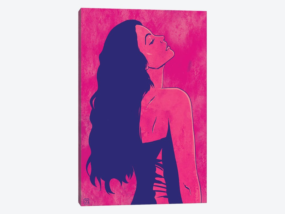 Scarlet by Giuseppe Cristiano 1-piece Canvas Print