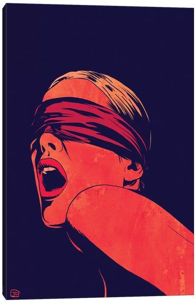 Blindfolded Canvas Art Print
