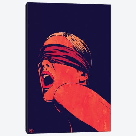 Blindfolded Canvas Print #JCR99} by Giuseppe Cristiano Canvas Art Print
