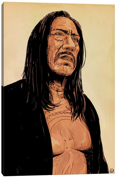 Danny Trejo Canvas Art Print