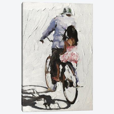 Riding With Grandad Canvas Print #JCT109} by James Coates Canvas Art
