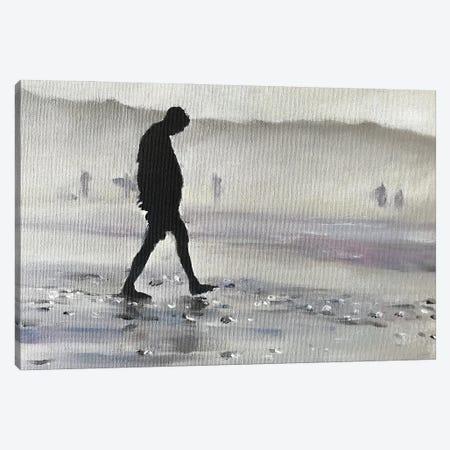 Shadow Of A Man Canvas Print #JCT113} by James Coates Art Print