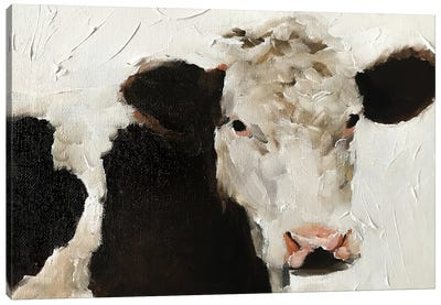 Angry Cow Canvas Art Print