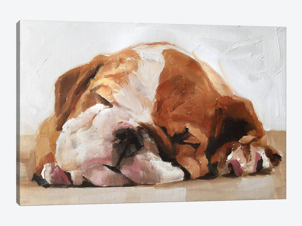 Sleepy Puppy by James Coates 1-piece Canvas Art