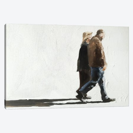 Strolling Canvas Print #JCT122} by James Coates Canvas Wall Art