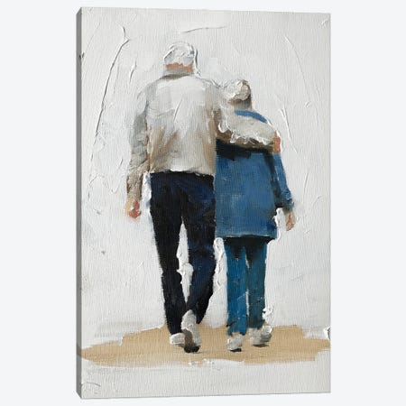Together Forever Canvas Print #JCT133} by James Coates Canvas Print