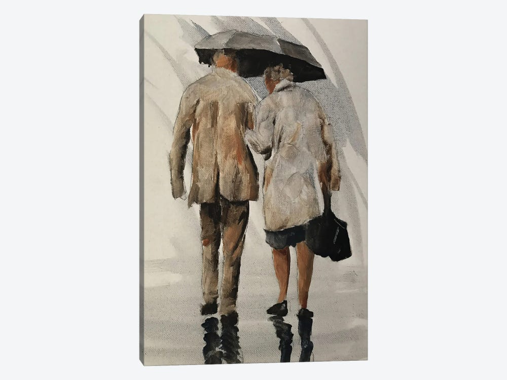 Weathering The Storm Together by James Coates 1-piece Canvas Wall Art