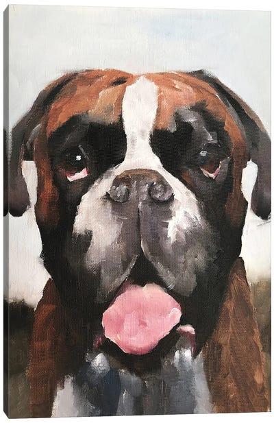 Boxer Dog Canvas Art Print
